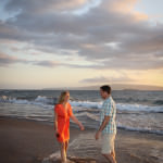 Polo Beach, Maui, Hawaii, Fairmont Kea Lani Maui, Engagement, Marie-Claude Photography