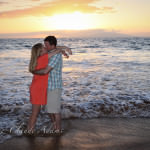 Polo Beach, Maui, Hawaii, Fairmont Kea Lani Maui, Engagement, Marie-Claude Photograp