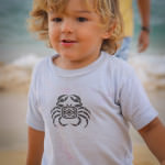 My son, Maui, Hawaii, Big Beach, Makena Beach, Makena