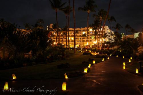 Earth Hour at The fairmont Kea Lani Maui