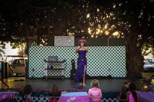 Hula Dance with Miss Maui 2013