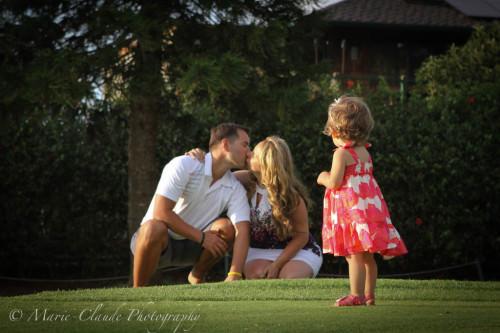 Pukalani Golf Course Family Portrait