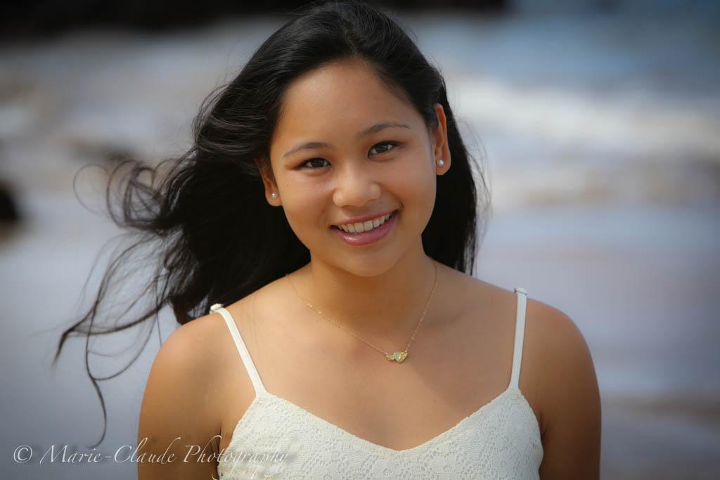 Maui Senior Portrait session Wailea