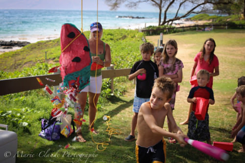 Kid Birthday Piñata party in Maui