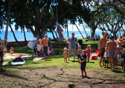 Awesome kids birthday party at the beach in Maui
