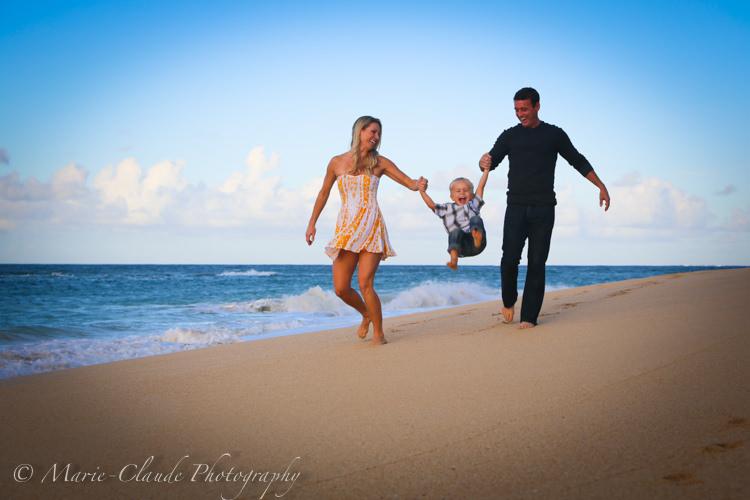 Baldwin Beach Family Portrait, North Shore Maui, Hawaii