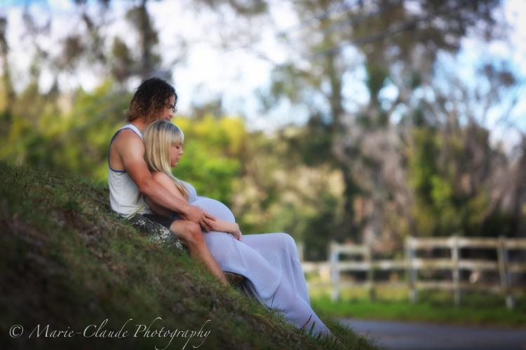 Maui Pregnancy Portrait