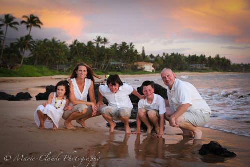 Keawakapu Beach in Kihei, Maui, Hawaii