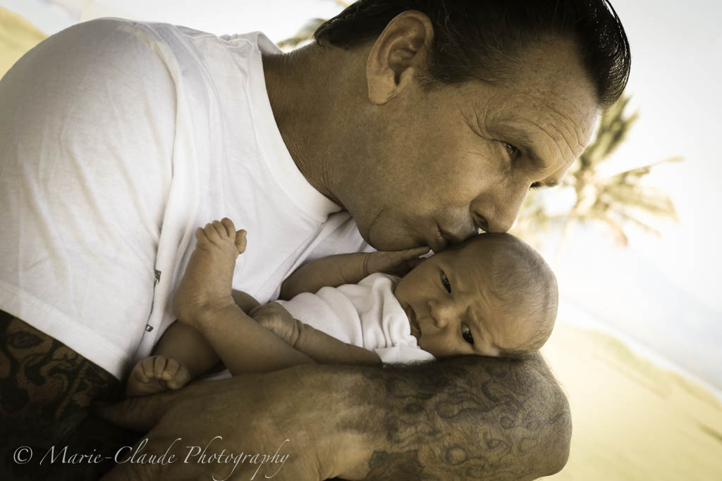 Daddy and his baby girl, Maui, Hawaii Family Portrait